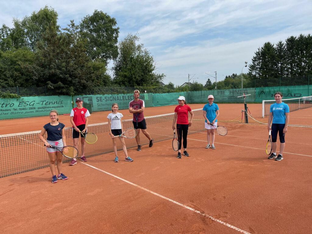 Tennis ESG Feriencamp 2021